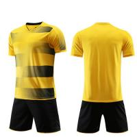 Quality Custom School Football Soccer Uniforms Soccer Jersey Set Uniforms for sale