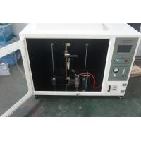 Quality Computerized & Self-ignition horizontal flammability tester in accordance with UL 94 for sale