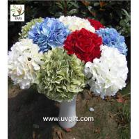 Quality UVG FHY20 wedding accessory silk hydrangea flowers artificial for bridal bouquets use for sale