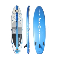 Quality Blue 145kg 320x81x15cm Womens Inflatable SUP for sale