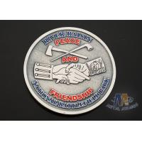 Quality USA Taekwondo Custom Challenge Coins Soft Enamel Both Side Design 38.1MM for sale