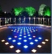 Quality 500X500 RGB color changing led floor tile light outdoor LED lighting for sale