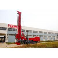 Quality Red 243Kw Modified Multifunction Top Drive Drill Rig , Rotate Angle 0º- 90 º for sale