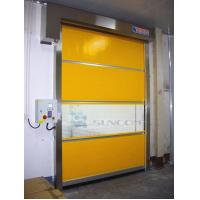 China High Speed Shoulder Protection PVC Roll Up Door / Rolling Steel Doors ISO Approved on sale