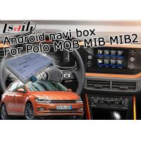 Quality GPS Android navigation video interface cast screen google app for VW Polo MQB MIB MIB2 6.5 and 8 inches for sale