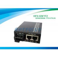 China 10 / 100 / 1000M Half Duplex rj45 Switch Fiber Optic Cat. 5 UTP cable without module on sale