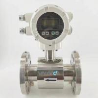 Quality Dn80 Mud Drilling Water Electromagnetic Flow Meter With Wire Less for sale