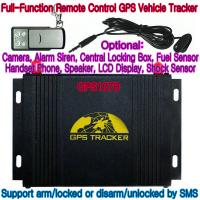 Buy GPS107B All-In-One AVL GPS Vehicle Tracker W/ Photo Snapshot, Remote-Control & 2-Way talk at wholesale prices