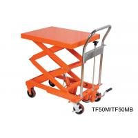 Quality Compact Structure Mobile Hydraulic Lifting Table With Electrical Controlling System for sale