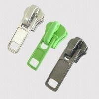 China Delrin Zippers with Customer's Design and Logo Welcome on sale