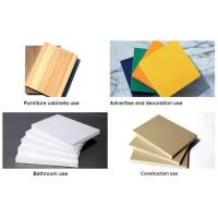 Quality High Density White 19mm Sintra PVC Forex Sheet For Upholstery for sale