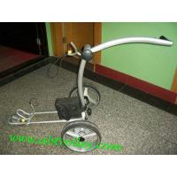 China Beautiful X3E electric push golf trolley with lithium battery tubular motors on sale