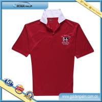 2014 new style custom dri fit sublimation polo shirt with collar