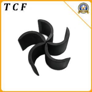 China Segment ferrite magnet/Fan magnet on sale