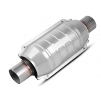 Quality 2 Inch 3.5L Car Catalytic Converter for sale