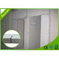 Quality Lightweight Waterproof EPS Cement Sandwich Panel Non asbestos 2270 * 610 * 100 mm for sale