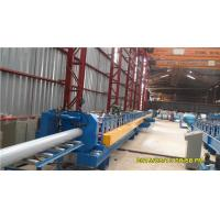 Quality 45# Steel Round Downspout Roll Forming Machine 40GP Container Integrated Adjustment for sale