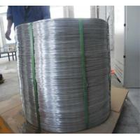 Quality SWRY11 H08A Welding Aluminium Wire Rod Silk Well Electrical Conductivity for sale
