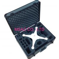 Quality RC Mould Aluminum Carrying Case Light Weight 5MM MDF With Gray ABS Panel for sale