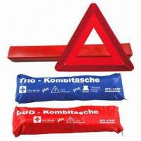 Quality Promotional Car Emergency Kit, Includes Warning Triangle for sale