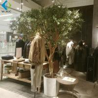 Customized Fake Indoor Olive Tree , Artificial Bonsai Tree For Restaurant for sale