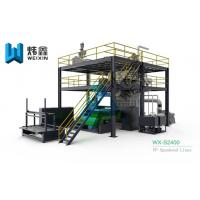 Quality PP Non Woven Fabric Making Machine Nonwoven Production Line for sale