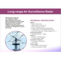 Quality High Accuracy Air / Land Surveillance Radar System Of Long Range Detection for sale