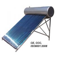Quality pressurized heat pipe solar water heater for sale