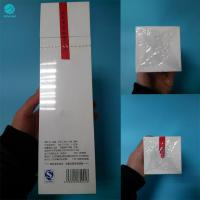 Quality 27 Micron Soft Shrink Wrap Roll For Naked Cigarette Box Packaging With Heat Sealing Function for sale