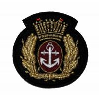 China Embroidered  Iron On Animal Army National Guard Patches Flower Letter on sale