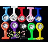 Quality Glow in Dark Silicone Nurse Doctor Hanging Watches for sale