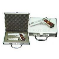 China Customzied Size Aluminum Locking Gun Cases With Soft Cushioned Interior on sale