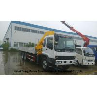 Buy cheap ISUZU 5 Ton -14 Ton Truck Mounted Crane With Telescopic Boom And Knukled Boom from wholesalers