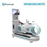 China 5 Games 9D VR Simulator / Motorcycle Racing Simulator 1250X3065X2338 Mm Size on sale