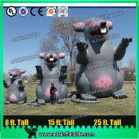Quality Giant Parade Inflatable Animal Advertising Inflatable Mouse Customized Inflatable Cartoon for sale