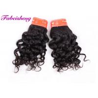 Quality Raw Indian Human Hair Extensions , Real Virgin Cuticle Aligned Brazilian Hair Bundles for sale