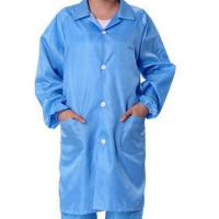 Quality Safety ESD Anti Static Clean Room Garments For Optical Production Workshop for sale