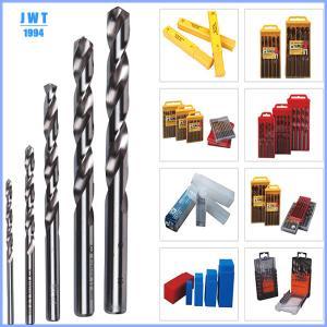 Quality HSS yellow titanized twist drill bits,HSS DRILL BITS for sale