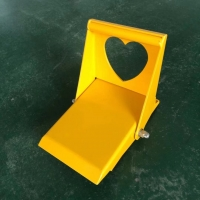 Quality Love Shape Friction Increases Trailer Security Lock Electrostatic Spraying for sale