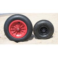 Quality 8 inch rubber wheel for wheelbarrow for sale