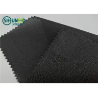 Quality Eco Friendly Drill Fusing Woven Interlining Broken Twill Weave For Garment for sale
