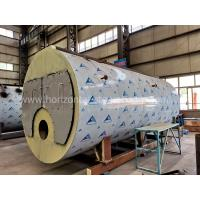 Quality Horizontal Natural Gas Hot Water Boiler Heating Systems For Washing Industry for sale