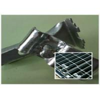 Quality Stainless Steel Bar Grating Clips , End Plate Welding Bar Grating Fasteners for sale