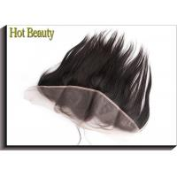 Non Remy Human Hair 8 Inch Ear to Ear Top Lace Frontal Smooth Straight