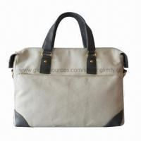 Buy cheap Canvas Handbag for Women, Sized 38 x 30 x 12cm from wholesalers
