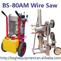 Quality High working efficiency BS-80AM portable hydraulic wire cutter machine for reinforced concrete cutting for sale
