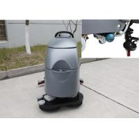 Quality Two Brushes Commercial Floor Cleaning Machines With Solution Level Checking Hose for sale