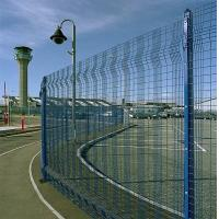 Quality Hot - dipped coated Mesh Panel Fencing / security fence panels for sale