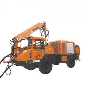 Quality Articulated Steering Underground Shotcrete Machine For Mining for sale