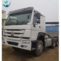China China used SINOTRUCK howo 371hp 64 trailer truck tractor head with good condition on sale